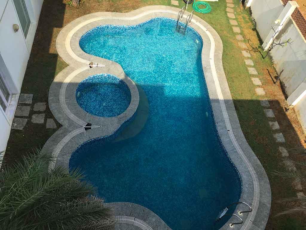 sea side beach villa in ecr