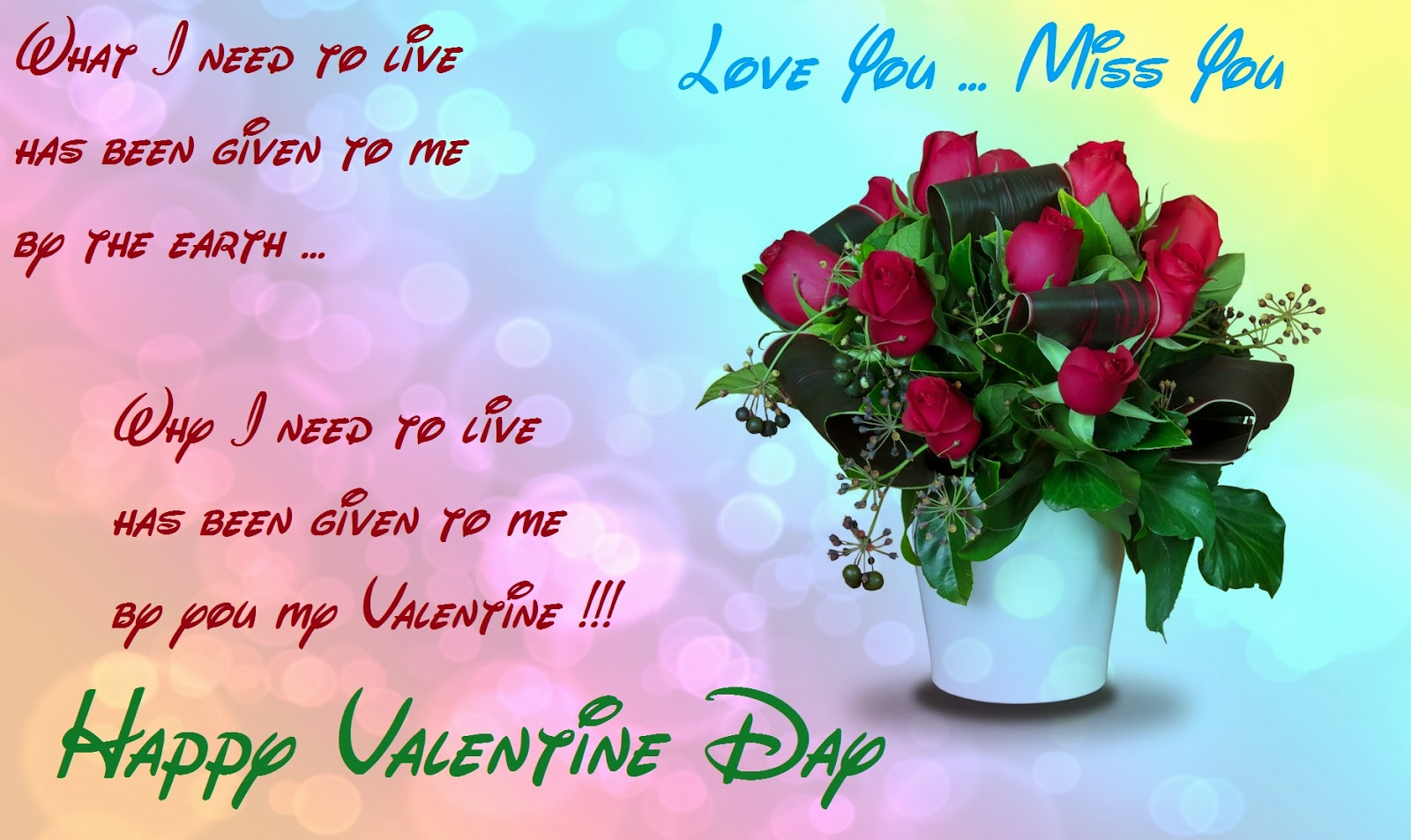 best valentine day wishes cards for girl friends