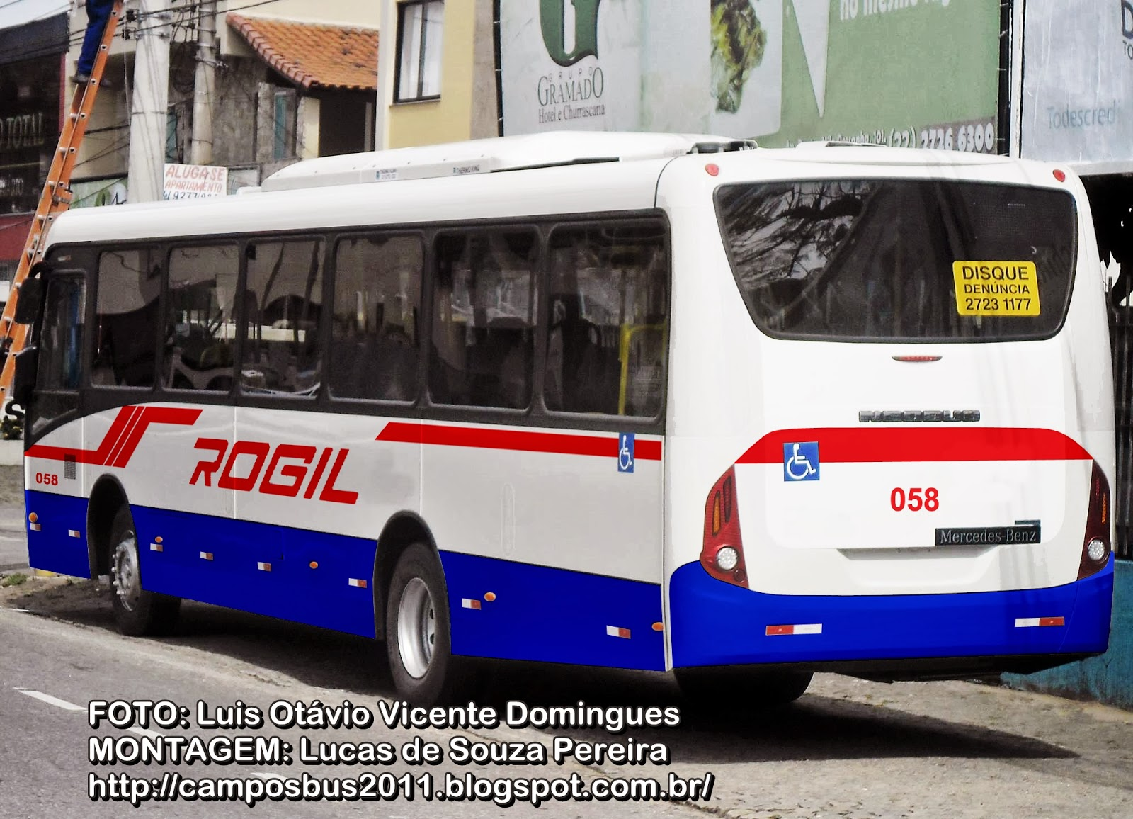 Campos Bus | Ônibus é o nosso hobby: Neobus Mega Plus