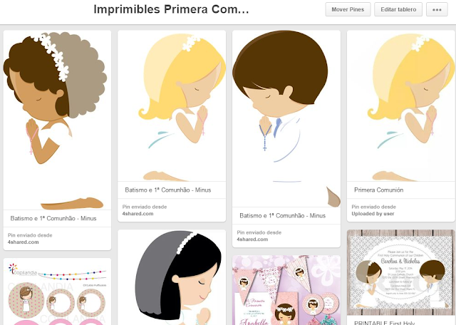 Imprimibles Primera Comunion - blog infantil