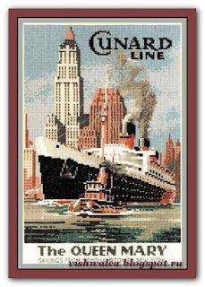 "Heritage Crafts Серия: Nostalgia ""NQM337 The Queen Mary"""