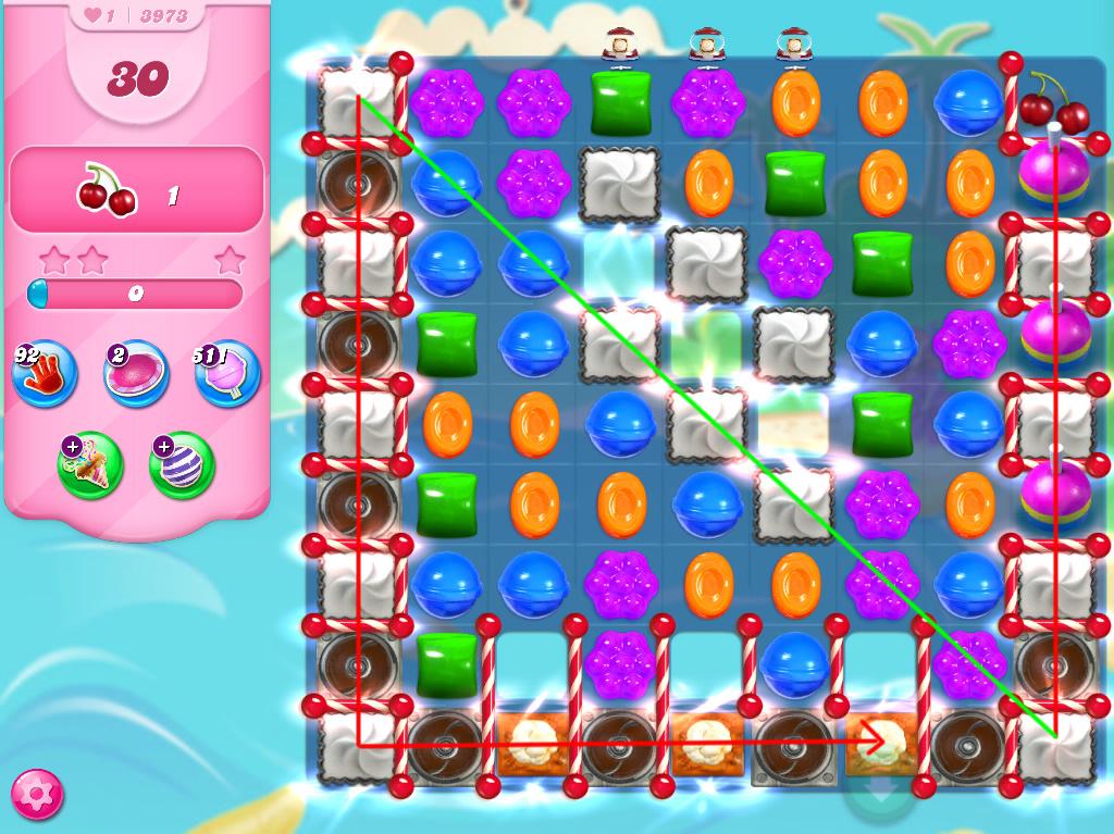 Candy Crush Saga level 3973