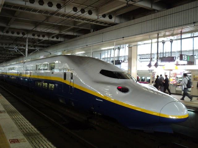 Ultra modern Shinkansen bullet train. Tokyo Consult. TokyoConsult.