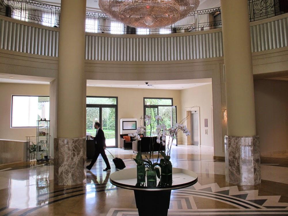 The Westin Valencia hotel lobby
