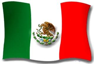 Imagen de la bandera de México a colores