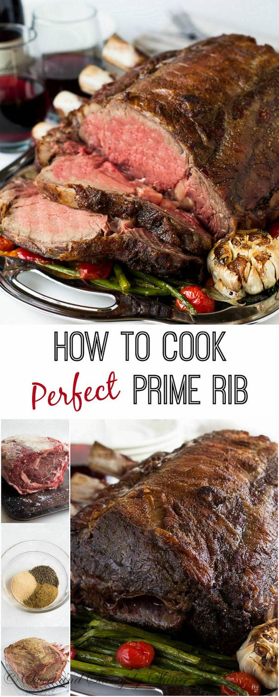 Roast a Perfect Prime Rib #dinner #maincourse #roast #rib