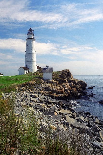 Little Brewster Island, Boston Harbor, Boston, Massachusetts, USA