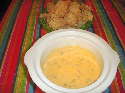 Margaret's Morsels | Crock-Pot Queso Dip
