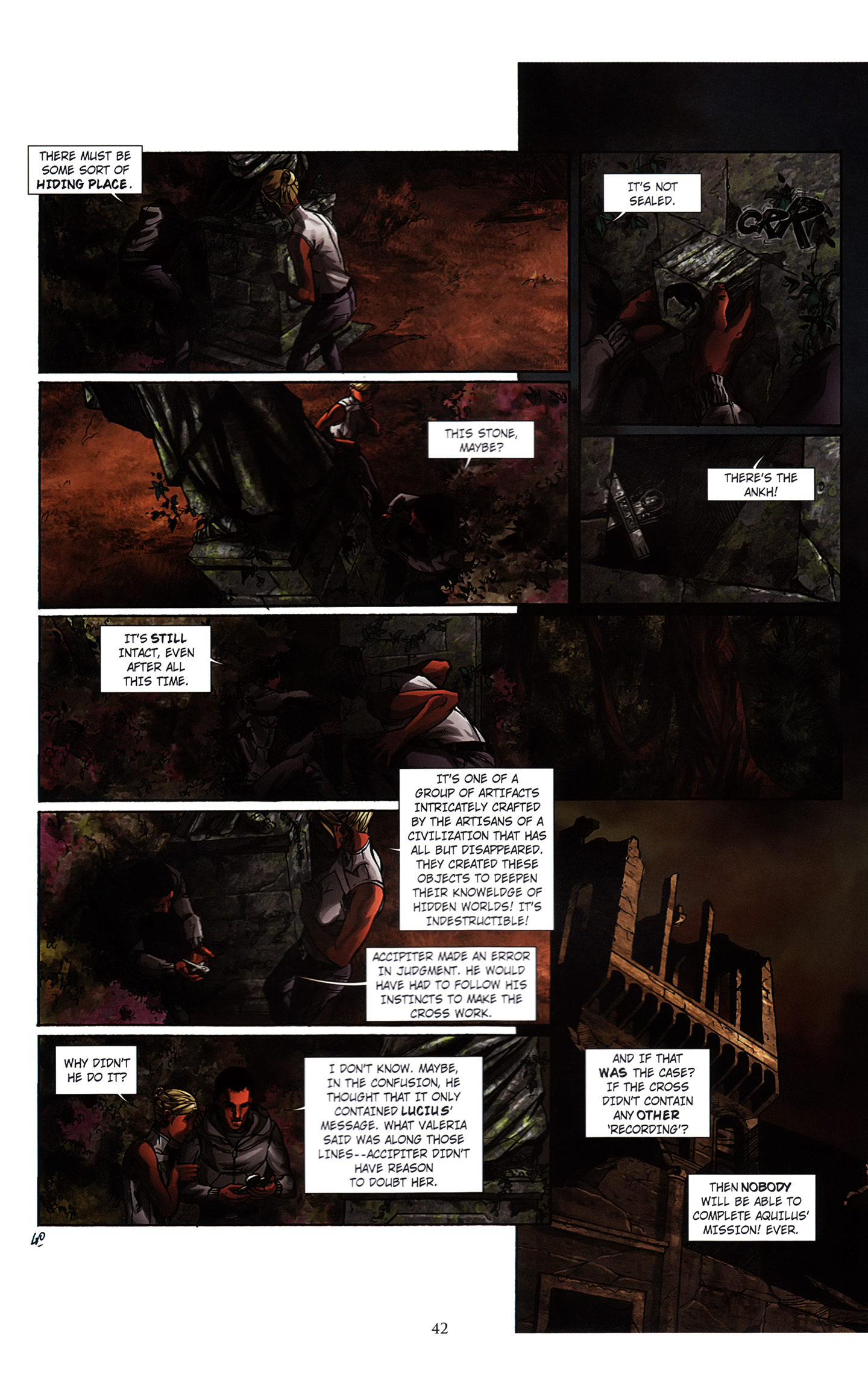 Read online Assassin's Creed (2012) comic -  Issue #3 - 46