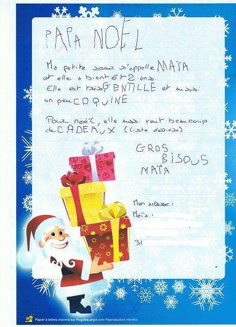 Reponse Rigolote Du Pere Noel : reponse, rigolote, Poule:, Lettres