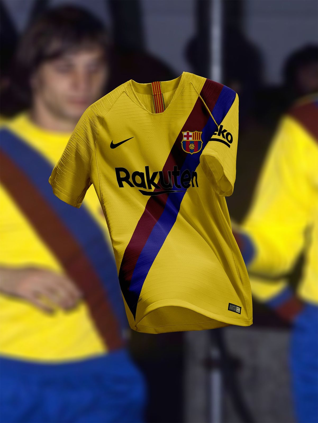 Barcelona 19-20 Away Kit Concept Revealed - Footy Headlines c0961e3589fb9