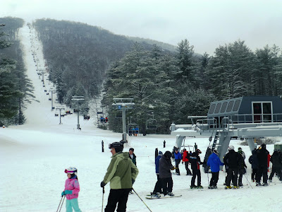 Gore Mountain Ski Bowl, Saturday 02/10/2018.  The Saratoga Skier and Hiker, first-hand accounts of adventures in the Adirondacks and beyond, and Gore Mountain ski blog.