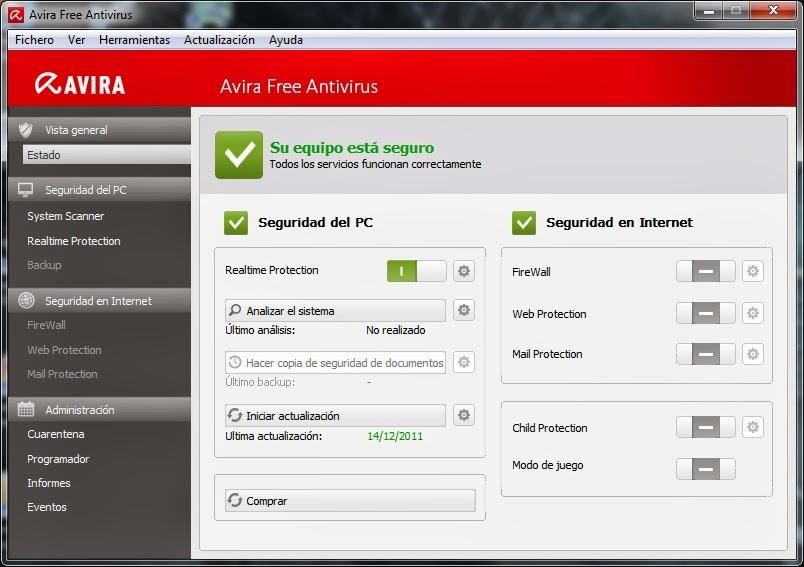 Mejor antivirus gratuito Avira-Free-Antivirus