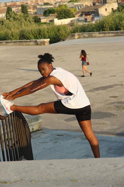 sport, fitness, tenue de sport, fitness outfit, dance hall, reprise du sport, bénéfices du sport, shorty mixa, tenue de fitness, legging, mixa