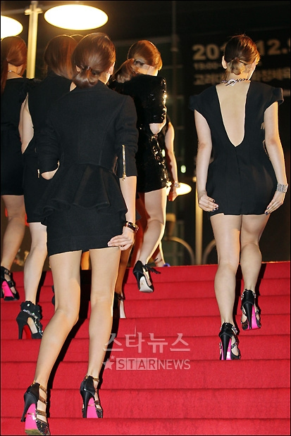 fans pick taeyeon u0026 39 s sexiest outfit  deep v or bare back