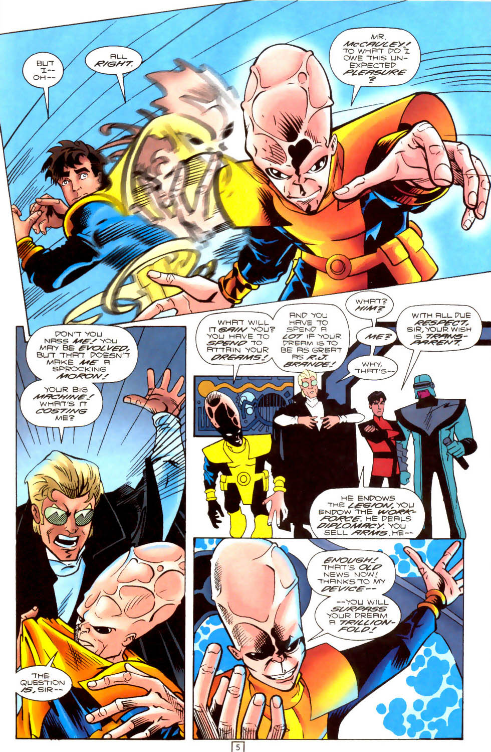 Legion of Super-Heroes (1989) 103 Page 4