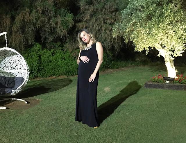 שמלת מקסי שחורה קסטרו