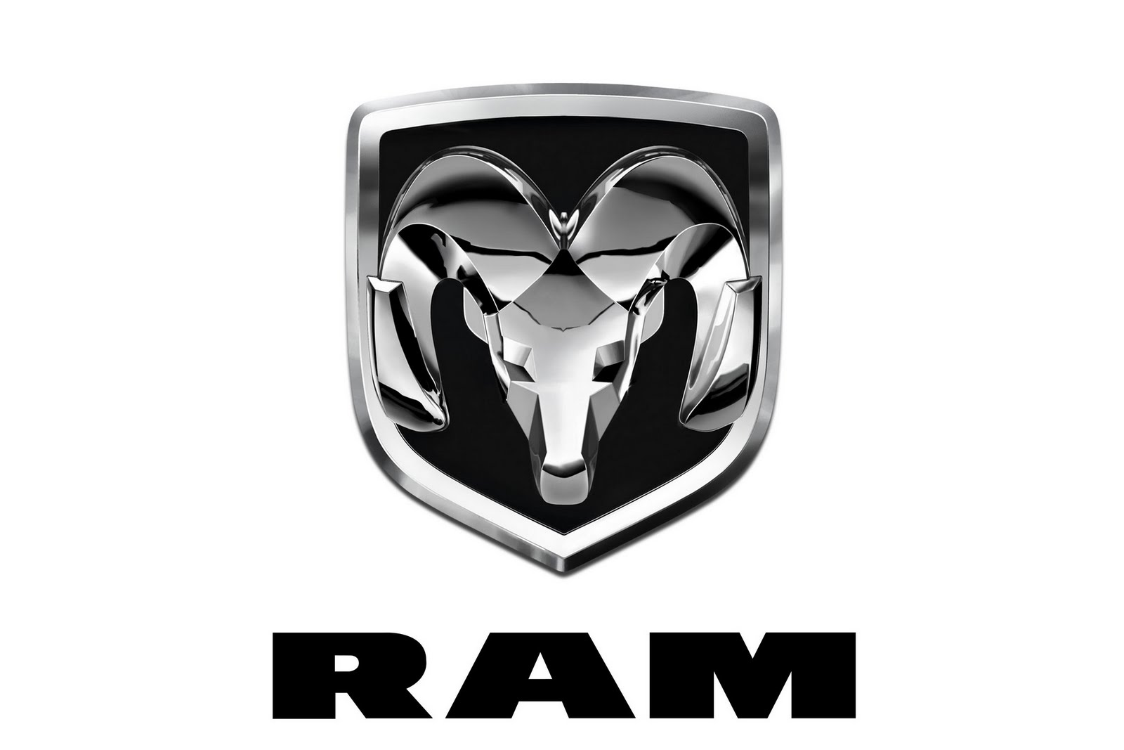 Ram Logo on auto car dump truck