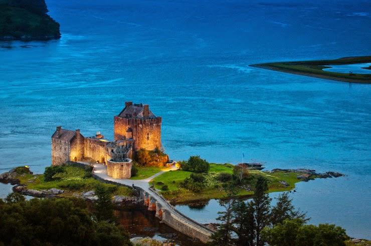 eilean donan  u2013 the most famous castle in scotland