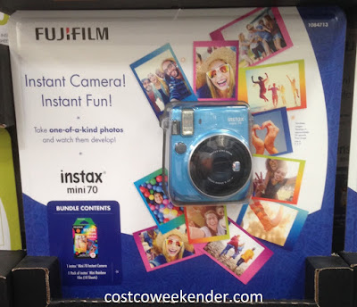 Fuji instax Mini70 Camera in color blue