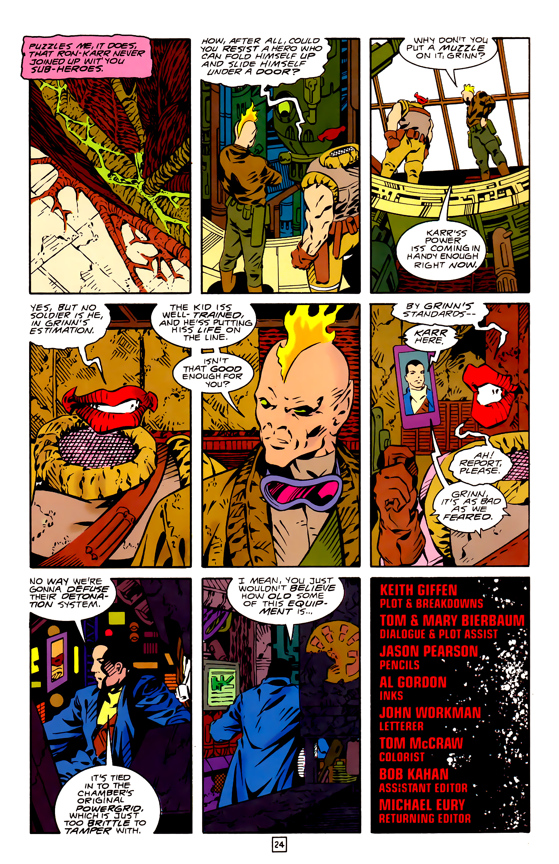 Legion of Super-Heroes (1989) 26 Page 24