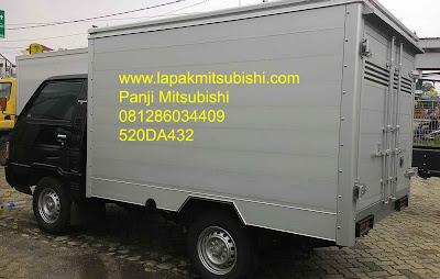 Mitsubishi Colt L300 Karoseri Box Alumunium