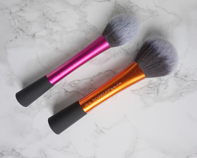 real techniques, brush, blush, powder, review, beauty blogger, hanrosewilliams, hannah rose, beauty,