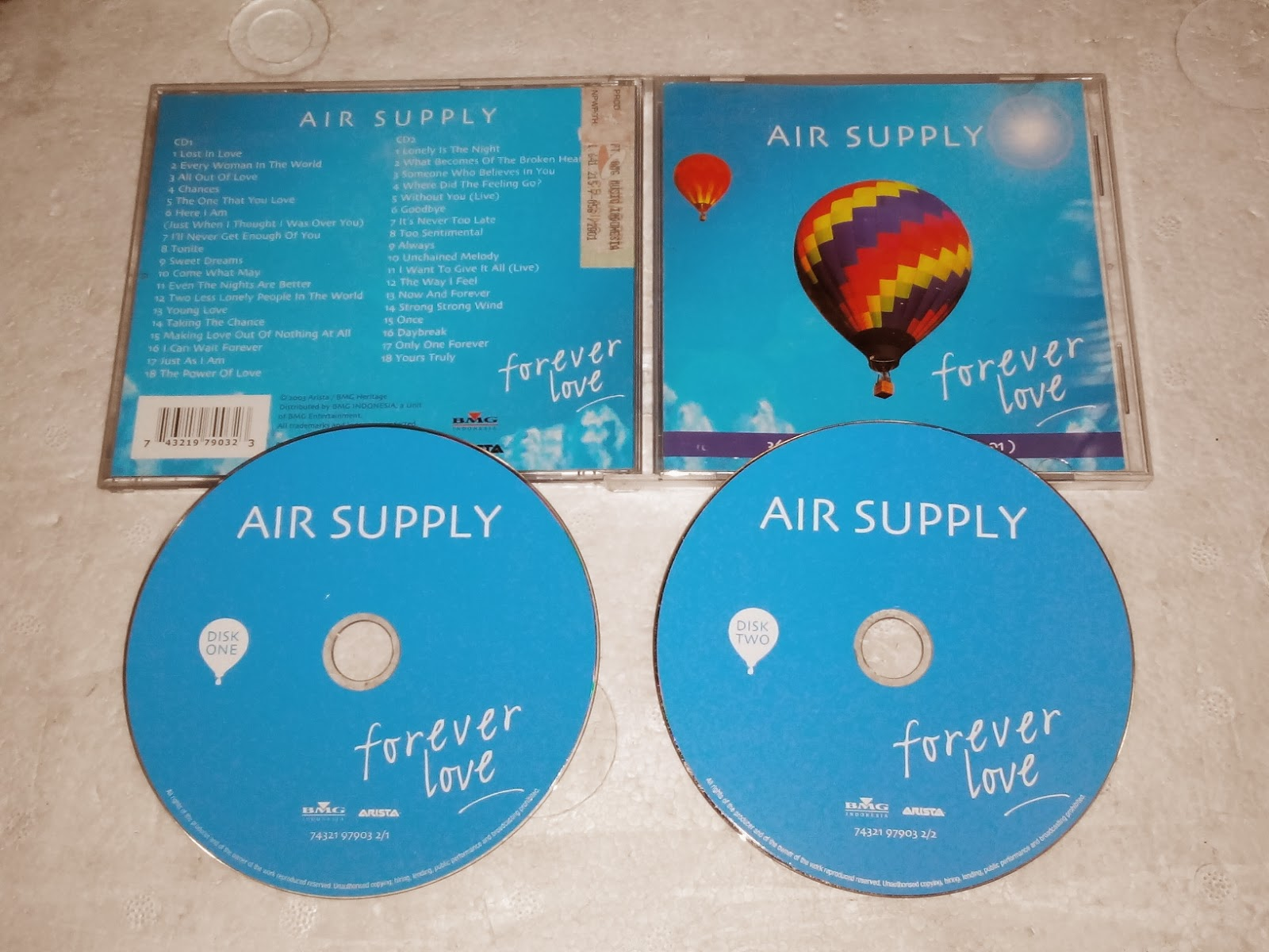 Air Supply Forever Love