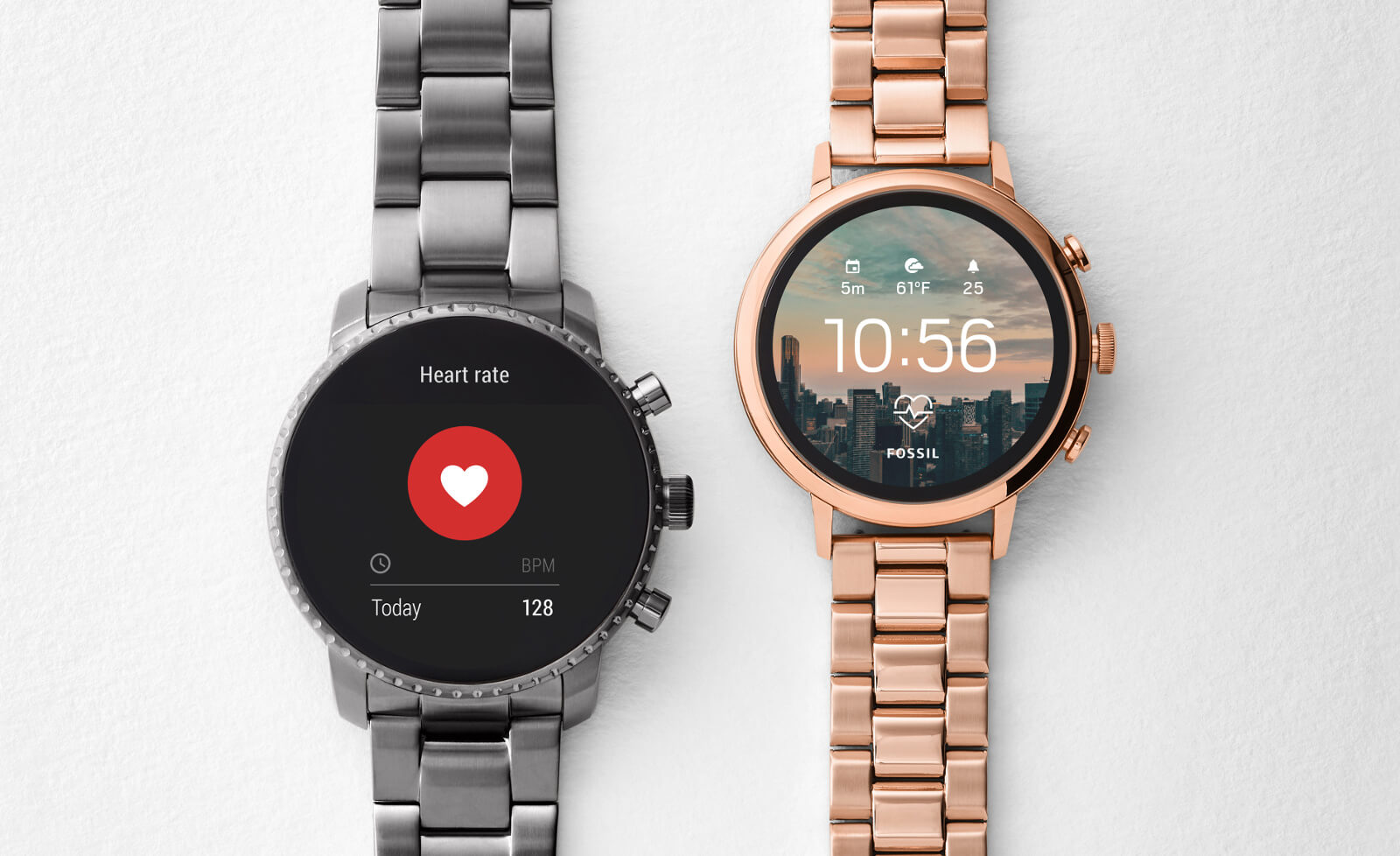 Fossil Launched The Q Venture HR, Q Explorist HR Wear OS Smart Watches