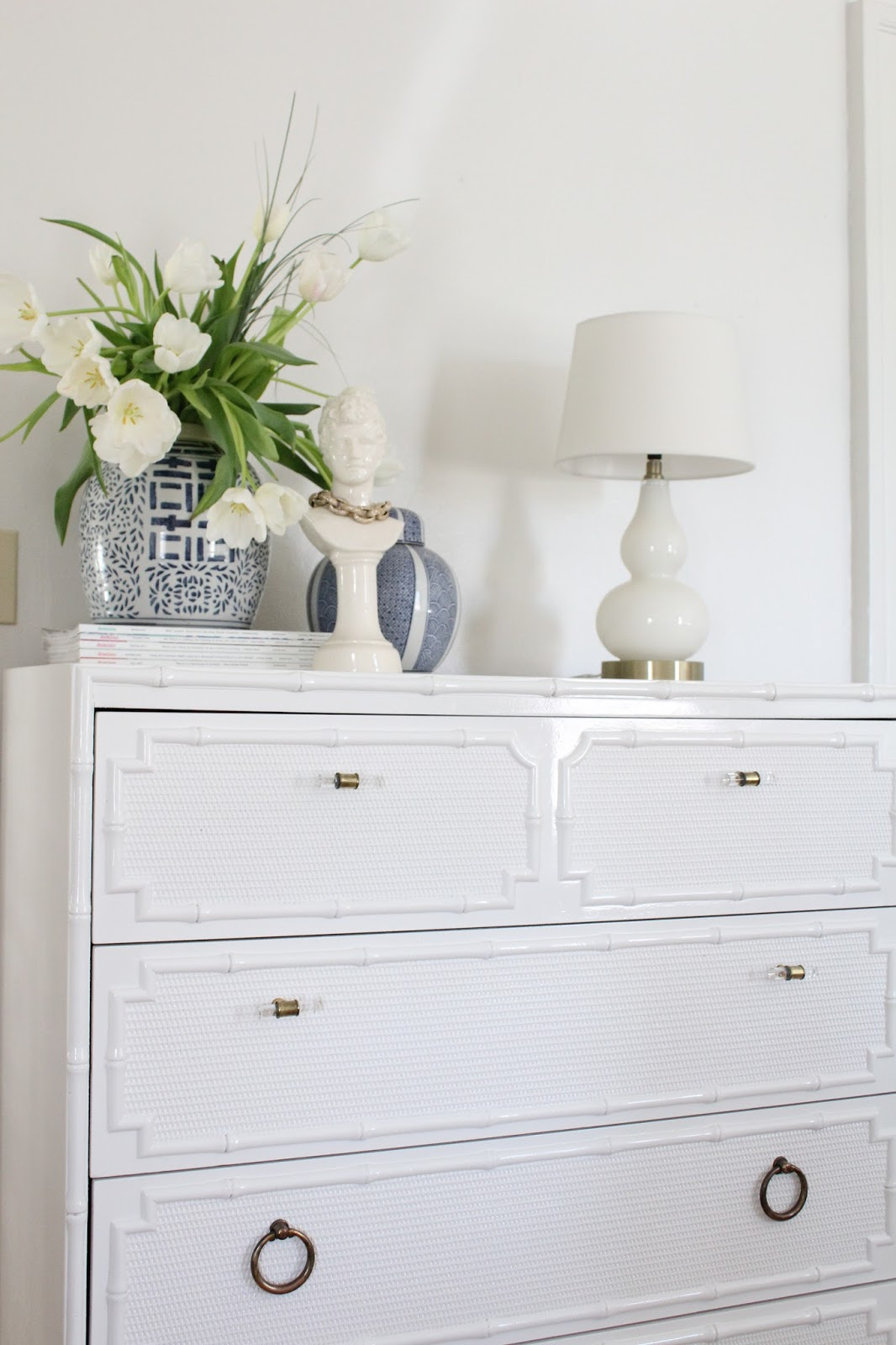 Itu0027s Time For Another Furniture Makeover! I Found This Vintage Omega Faux  Bamboo Dresser Back In Maryland In Early 2016, And I Wrote A Little Blog  Post ...