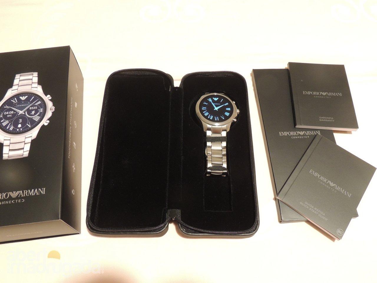 92387197a4d Análise ao Emporio Armani Connected ART5000 smartwatch
