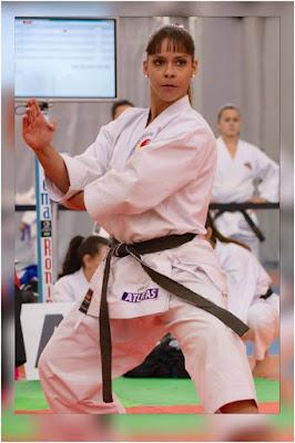 Resultado de imagem para martinna rey karate