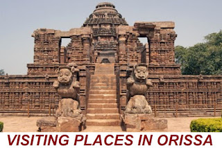 VISITING PLACES IN ORISSA