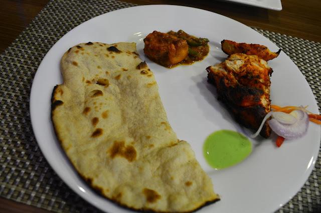 Tandoori Chicken Tandoori Roti