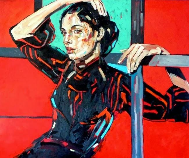 Яркие и энергичные портреты женщин. Anna Bocek=