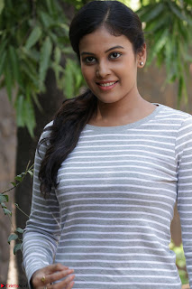 Actress Chandini in ed Tight Top at Ennodu Yilayadu tamil movie press meet ~  37.jpg