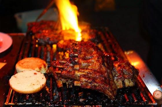 BBQ di Naughty Nuri's Warung and Grill