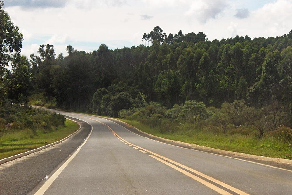 vista estrada rua