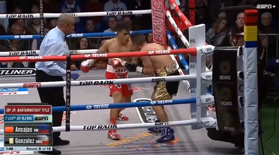 Jerwin Ancajas TKOs Miguel Gonzalez in Round 6 (VIDEO)