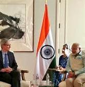 Tim Cook Visits India