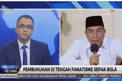 Ketua Umum PSSI Geram Saat Diwawancarai Wartawan Kompas Terkait Meninggalnya Suporter Jakmania, Ini Videonya