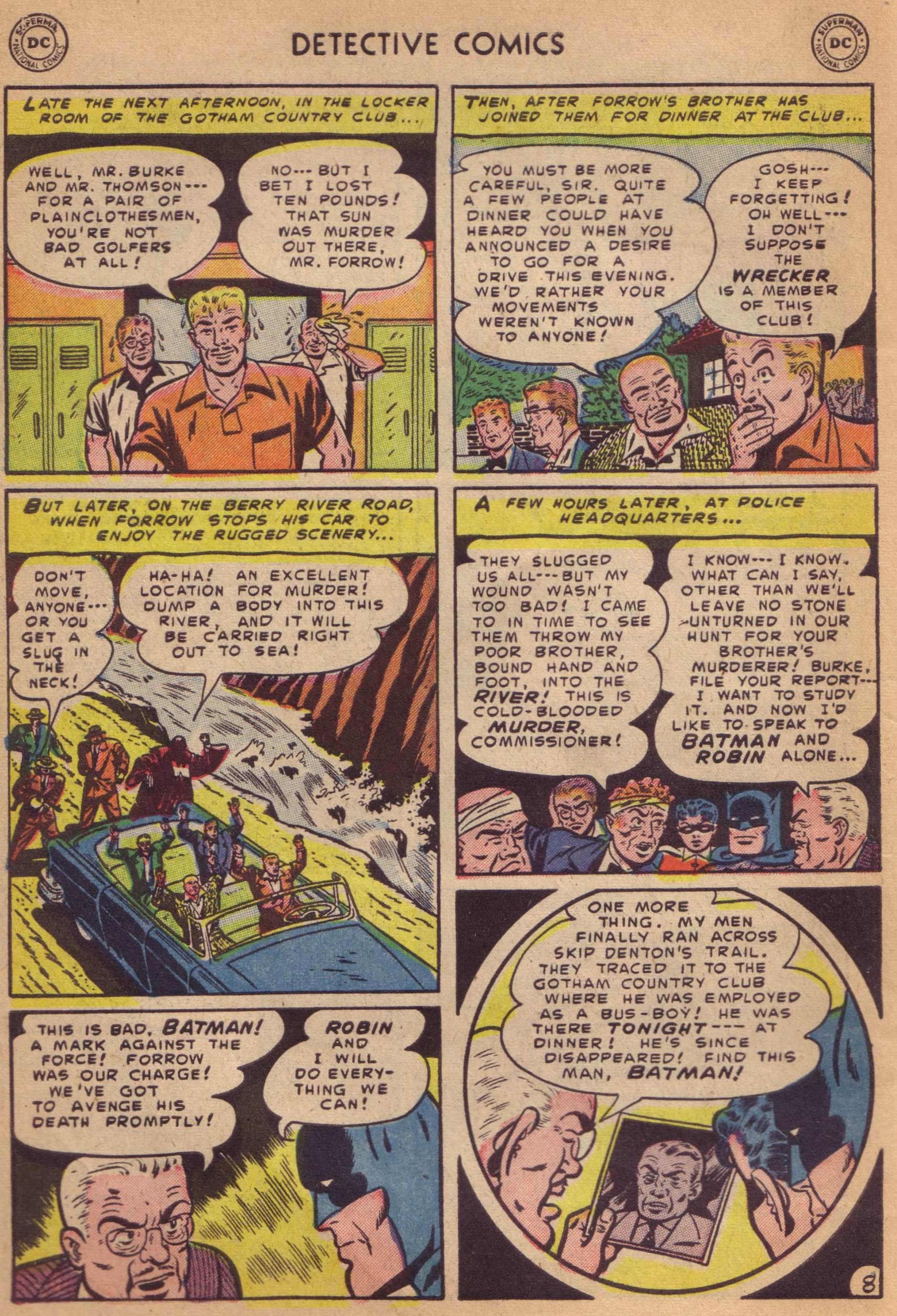 Read online Detective Comics (1937) comic -  Issue #197 - 10