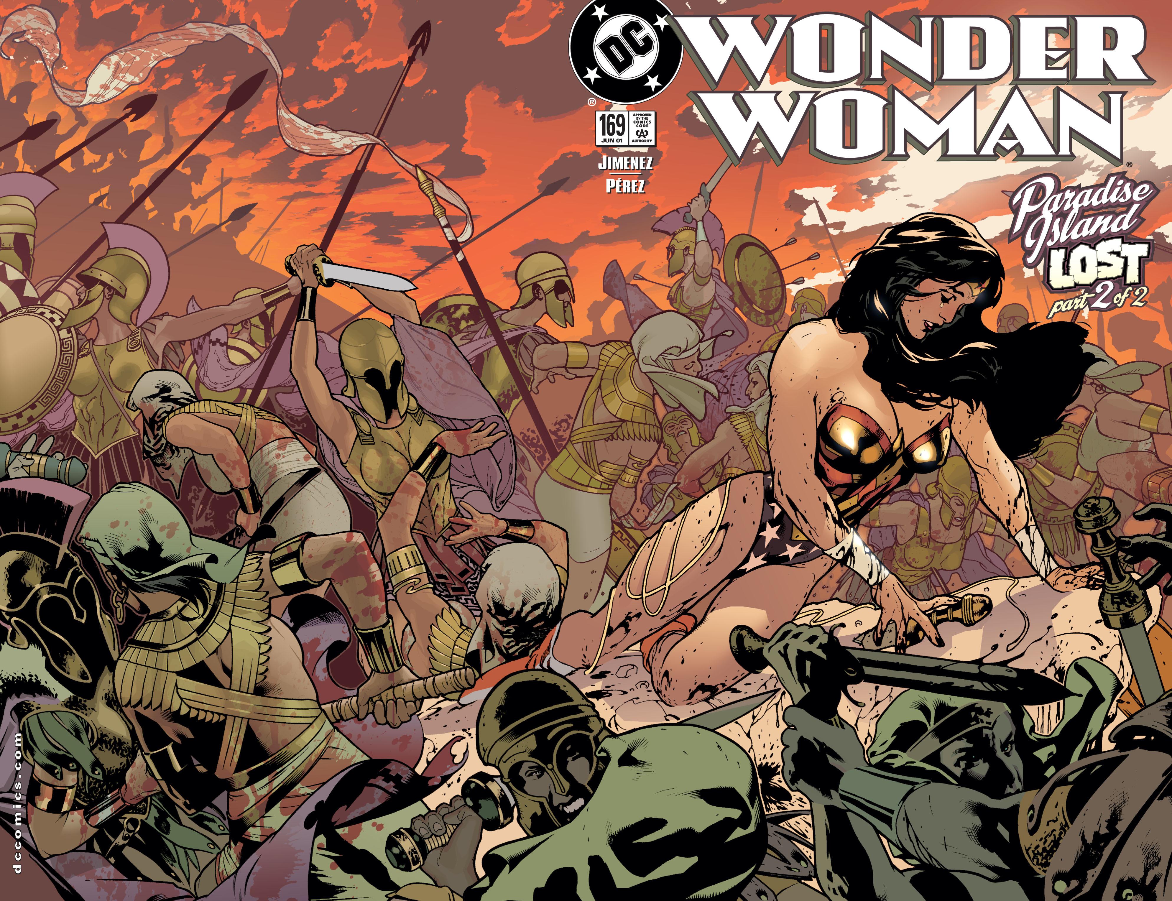 Read online Wonder Woman (1987) comic -  Issue #169 - 2