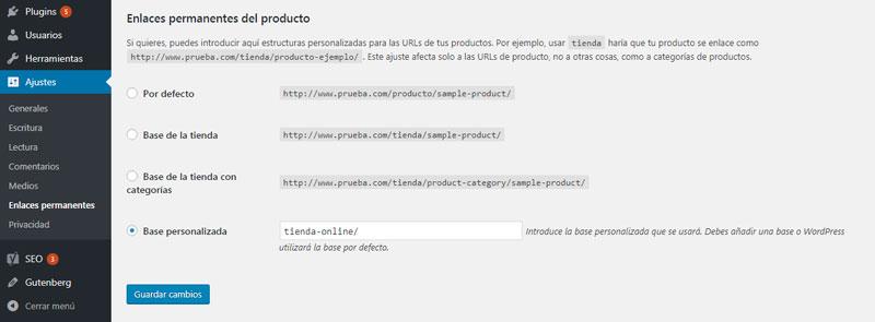 Optimización páginas de productos para Posicionamiento en buscadores en WooCommerce