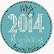 My 2014 Blog Resolutions