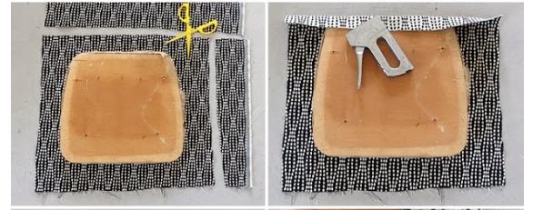 Blizzy glizzy come tappezzare e rinnovare una sedia - Tappezzare una sedia ...