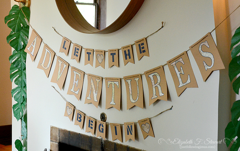 An Adventure Themed Baby Shower