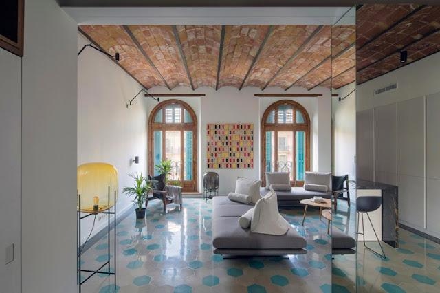 Personalitate în stil contemporan în Barcelona