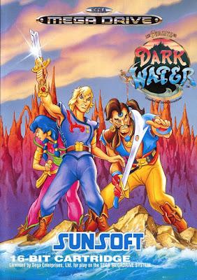Rom de The Pirates of Dark Water - Mega Drive - PT-BR