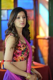 Actress Richa Panai Stills in Half Saree at Rakshaka Bhatudu Sets  0011.JPG